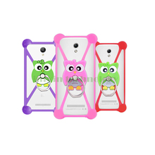 New Cartoon Ring Stand Soft Silicone Case For ZTE Geek 2 Cell Phone 3.5 – 5.5 Inch Bumper Frame Cover