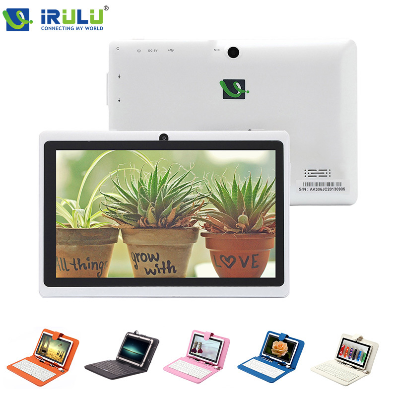 Original iRULU eXpro X1 7 A33 Quad Core 1 5GHz Tablet 8GB ROM Dual Cam Tablet
