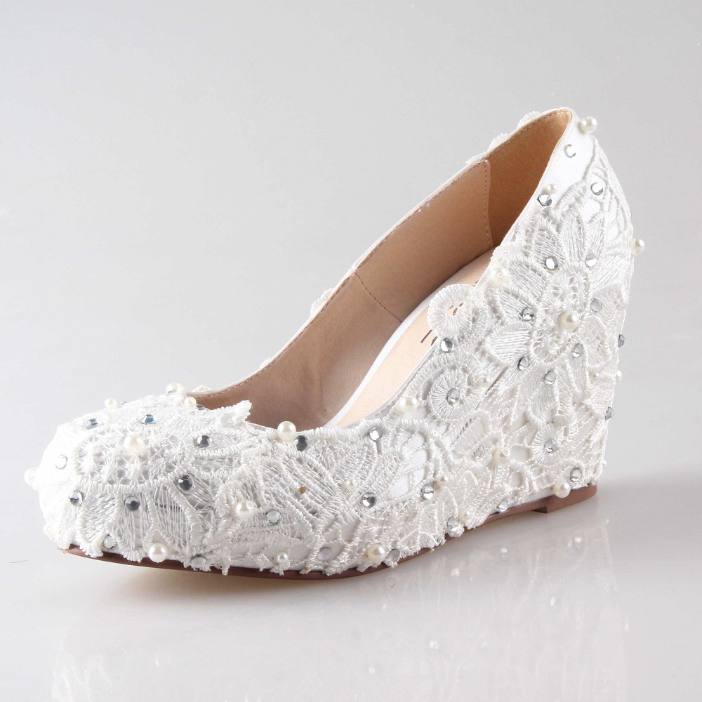 White Suede Wedges Promotion-Shop for Promotional White Suede