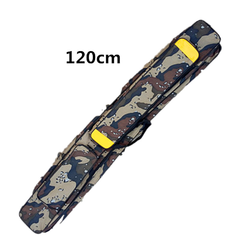 Furniture accessories 120cm Portable Folding Fishing Rod Carrier Fish Pole Tools Storage Bag Case Pro Gear Tackle spark storage bag portable carrying case storage box for spark drone accessories can put remote control battery and other parts