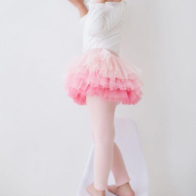 a3bb911199c42 2018 new girl legging Skirt-pants Gradient yarn Cake skirt baby spring  leggings Children's Girls Skirt pants for kids 3T bootcut