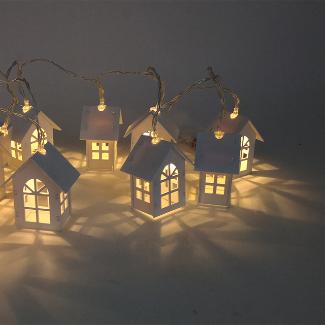 LED Christmas Tree House Style Fairy Light 5