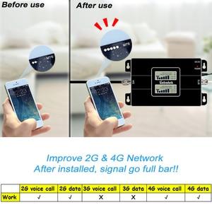 Image 4 - Lintratek Signal booster 2G 900 3G 1800 Cellular Signal Booster GSM DCS 1800MHz Repeater UMTS Amplifier 3G Antenna 10m Kit #40