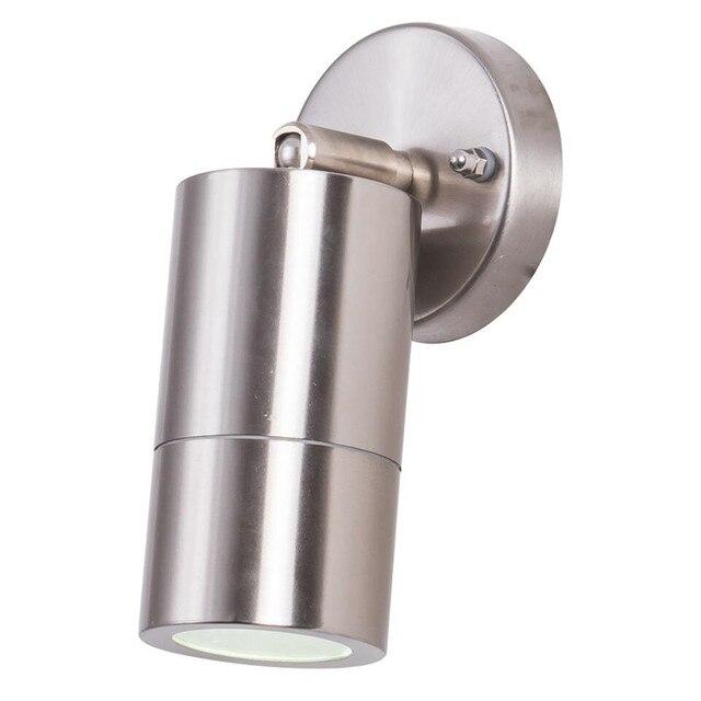 stainless steel outdoor lights motion sensor yrank ip65 waterproof led wall light fixtures lamp outdoor lighting gu10 socket stainless steel bracket