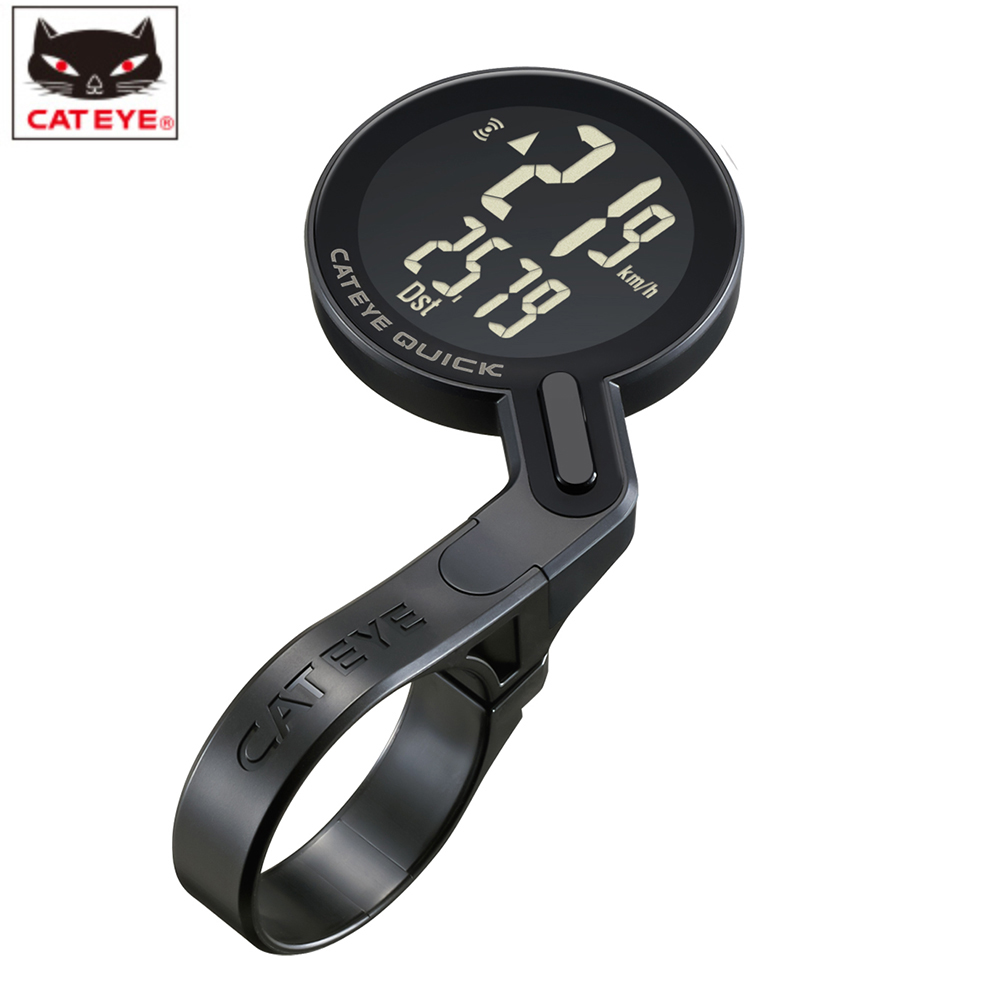CATEYE CC RS100W Cycling Bicycle Wireless Digital Computer Speedometer Mountain road Bike Stopwatch japan ultra light