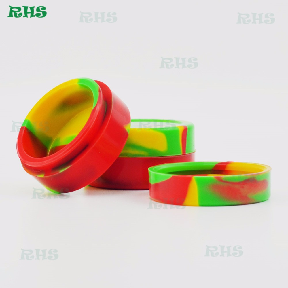 Aliexpress wholesale price hot selling 22ml silicone jars dab wax container hot selling 22ml silicon container
