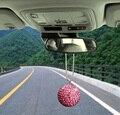 Ablaze Кристалл Мяч Вид Сзади Автомобиля Зеркало Вешалка Висит Кулон Украшения 3.5 СМ 5 СМ