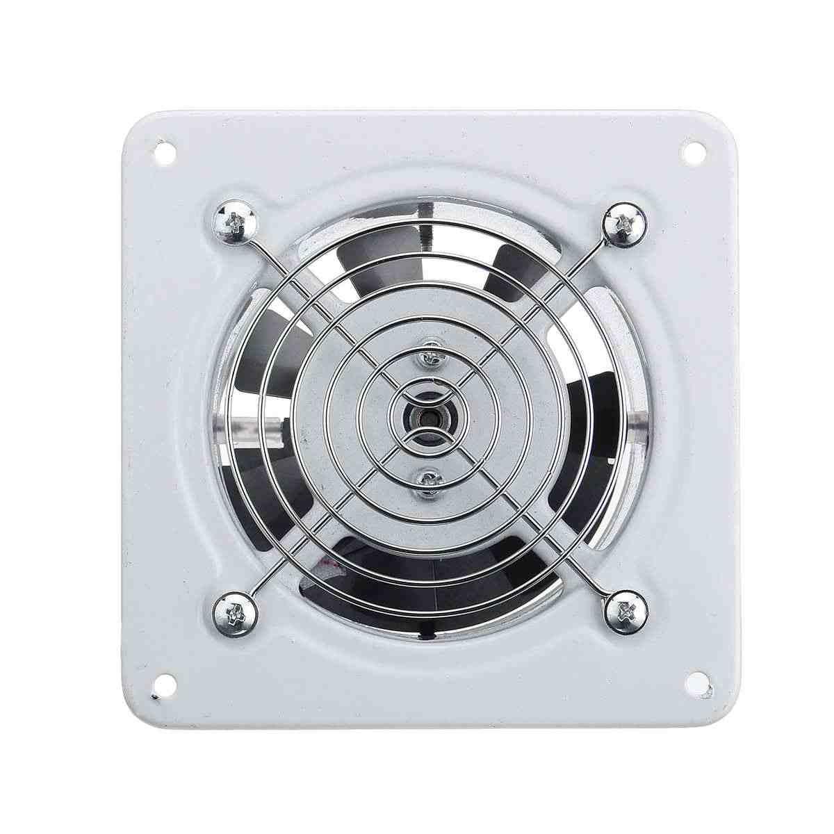 25 W 4 ''220 V Hause Bad Küche Wc Geräuscharm Ventilator Air Vents Auspuff Fan Wand Fenster Extractor belüftung Fan