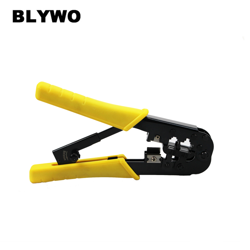 Купить с кэшбэком multi-function Cable Crimper tool 6P 8P network pliers Hand Tools computer Wire Pliers Stripping, Thread Trimming