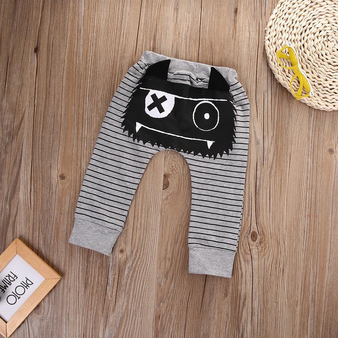 New-Infant-Baby-Boys-Girls-Warm-Cotton-Striped-Monster-Corss-Sport-Bottom-Pants-Leggings-Harem-Pants-Boys-Pants-0-2Y-5