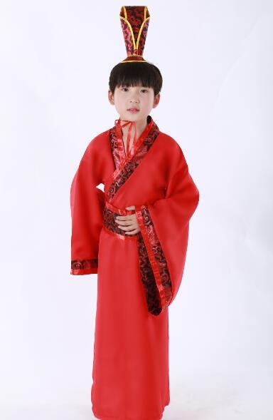 2016 hot ancient scholar for boys ancient chinese costume han dynasty traditional han chinese clothing for children han clothes