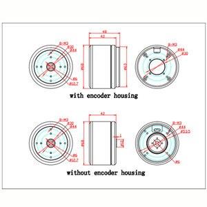 Image 4 - 1PC HT6025 ジンバルモーター大トルク光電ポッドブラシレス w AS5048A/AS5600 エンコーダ DIY ロボットジョイント s