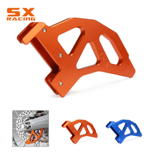 Motorcycle Rear Brake Disc Guard Protector For KTM SX EXC XC XCW SXF EXCF XCF XCFW MXC 125 150 200 250 300 350 400 450 525 530 nicecnc cnc front brake clutch rear brake reservoir cover cap for ktm 125 150 250 300 350 450 500 530 sx xc exc xcw xcf sxf excf