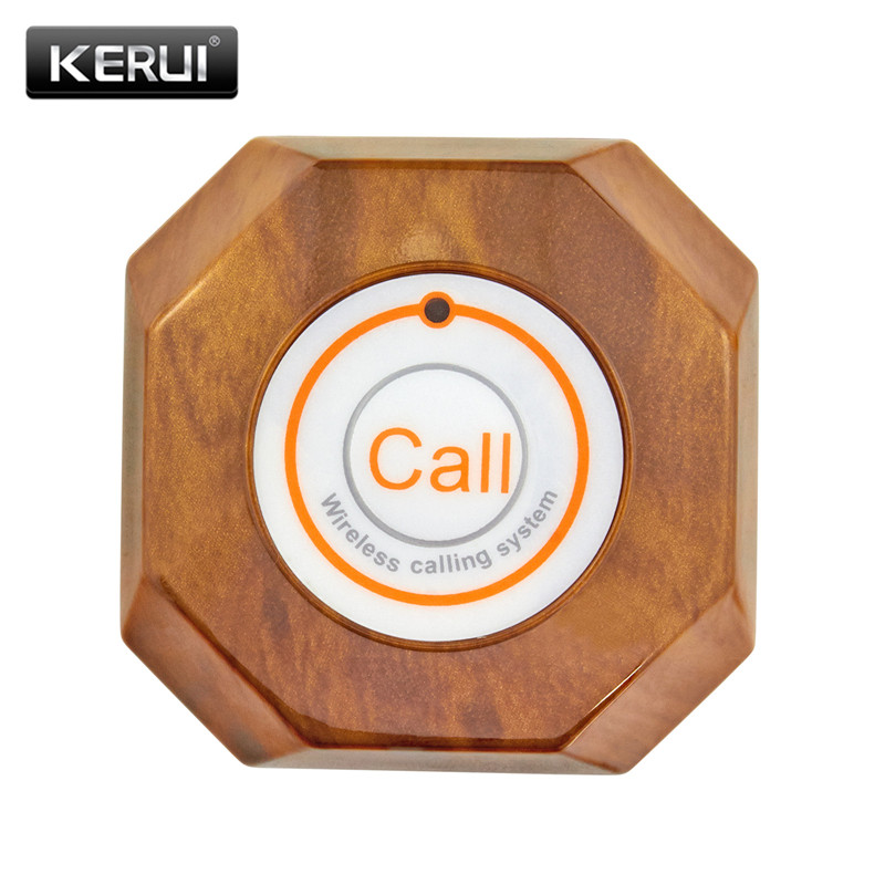 KERUI Wireless Calling Bell Pager Call Button Transmitter Calling System For Restaurant Hotel Pager 433MHz Restaurant Equipment