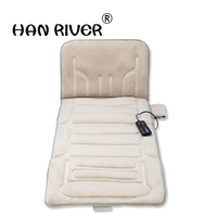Hot sale high body multi purpose massage mattress neck shoulder waist massage cushion household winter heating massage mattress