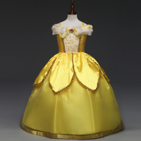 Children Cosplay Dress up Beauty Fairy Girl Princess Fancy Party Costume Children Clothing Gowns Kids Clothes Girls Dresses