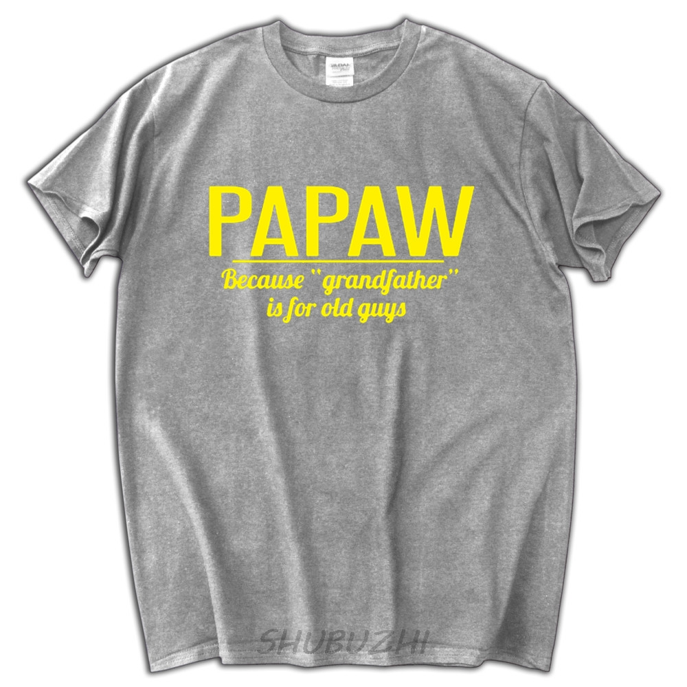 3c47ece167c8 Father s Day Shirt Gift Funny Papaw T Shirt GrandFather T Tees Dad Gift  Present Pops Granddad Because Grandfather is for Old-in T-Shirts from Men s  Clothing ...