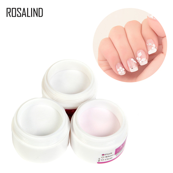 ROSALIND Acrylic Powder Crystal Polymer Nail Art Builder False Tips Tools Nail Art Tips Builder Manicure Nail Polymer Nail Tools