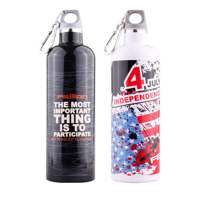 FEIJIAN Thermos Vakuum İzolyasiya edilmiş Flask Paslanmayan Polad - Mətbəx, yemək otağı və barı - Fotoqrafiya 4