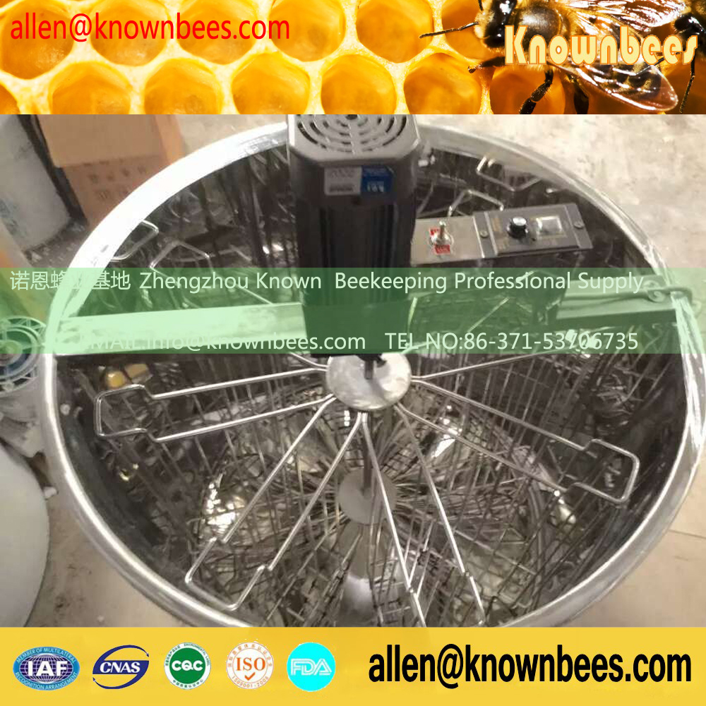 201 Stainless steel 6 Frame Electric Motor Honey Extractor