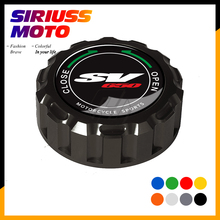 Motorcycle Rear Brake Fluid Reservoir Cap Case for Suzuki SV650 SV 650 1999-2008