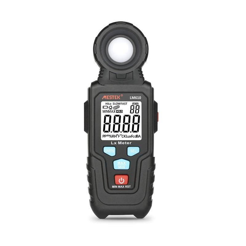 Измеритель освещенности цифровой измеритель яркости Lux Fc тест макс мин осветители фотометр
