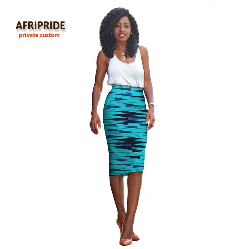 2017 New fashion african style one piece Skirt african dress for women bazin riche femme clothing