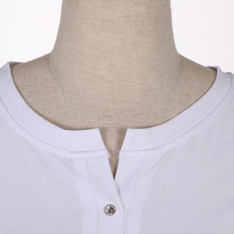 Yay Qadın T-shirt Plus Ölçü Qadın Şirin Çap köynək Əsas - Qadın geyimi - Fotoqrafiya 6