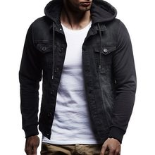 Sleeves Denim Jacket Men Werbeaktion Shop für Werbeaktion