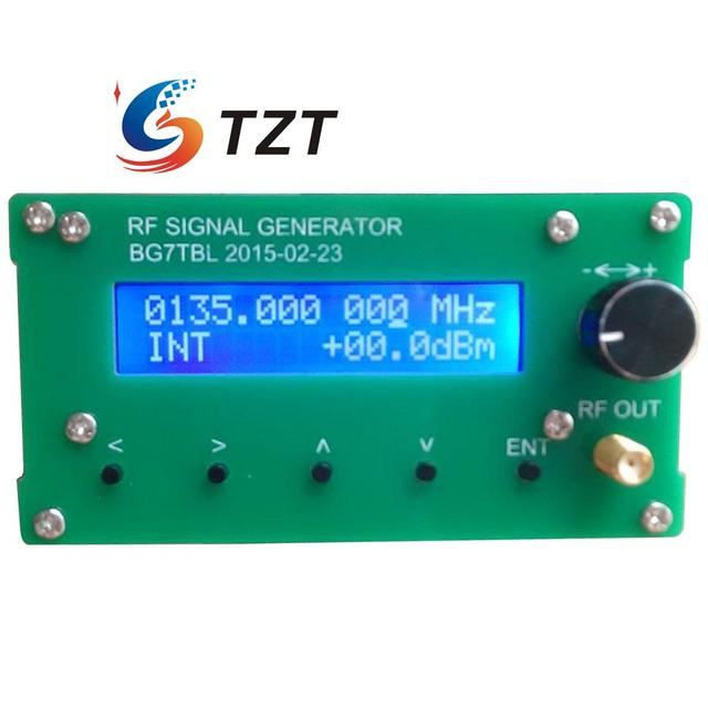 SG35-4400 35M-4.4G Simple Signal DC 9-20V Source RF Signal Generator 1kHz Step Compuer control