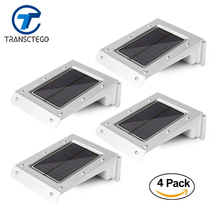 4 PCS 20 Led Solar Light PIR Motion Sensor Outdoor IP65 Waterproof