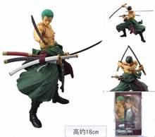 MegaHouse One Piece Roronoa Zoro PVC Action Figure Collectible Model Toy 18cm KT1712