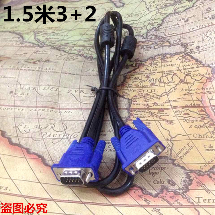 1.5m VGA cable to monitor VGA cable host computer video cable