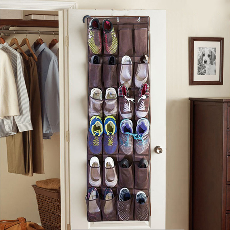 Home Over The Door Hanging Shoe Organizer Mesh Storage Holder Rack Closet  Shoes ZH988 In Storage Bags From Home U0026 Garden On Aliexpress.com | Alibaba  Group