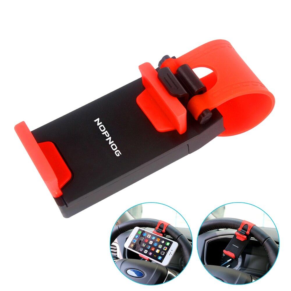 Автомобильный держатель телефона установлен на рулевом колесе Колыбели смарт-мобильный телефон Клип держатель резинкой для Samsung iPhone 5S 6 6S
