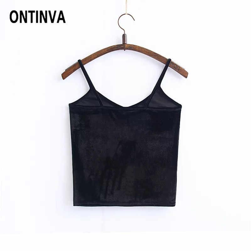 68ea9094904a53 ... 2019 Women Black Velvet Crop Tops Sexy Solid Color Bralette V Neck Off  Shoulder Vest Wrapped ...