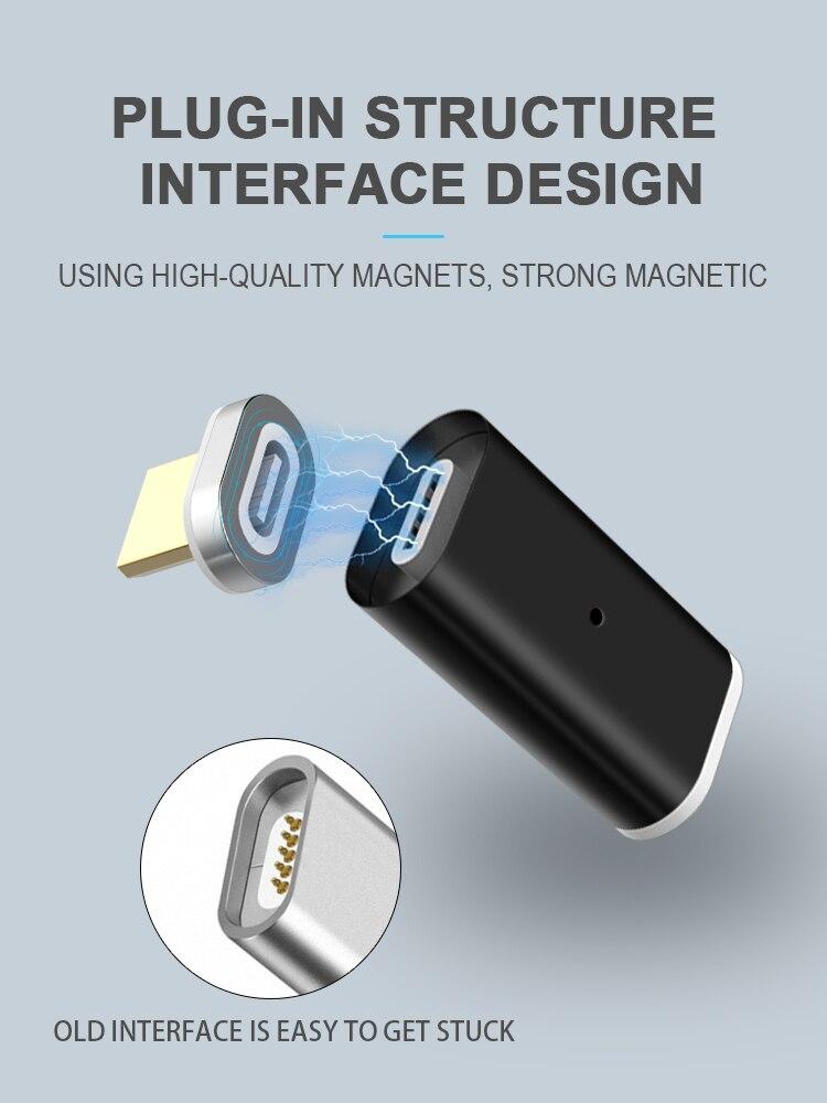 GREENPORT Micro Usb адаптер магнитное зарядное устройство Тип C конвертер для Samsung iPhone Xiaomi Huawei телефон зарядное устройство кабель Разъем
