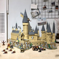 16060 Harri Potter Series Hogwarts Castle Magic World Dumbledore Building Blocks 6742pcs Brick Toys Compatible Legoing Movie