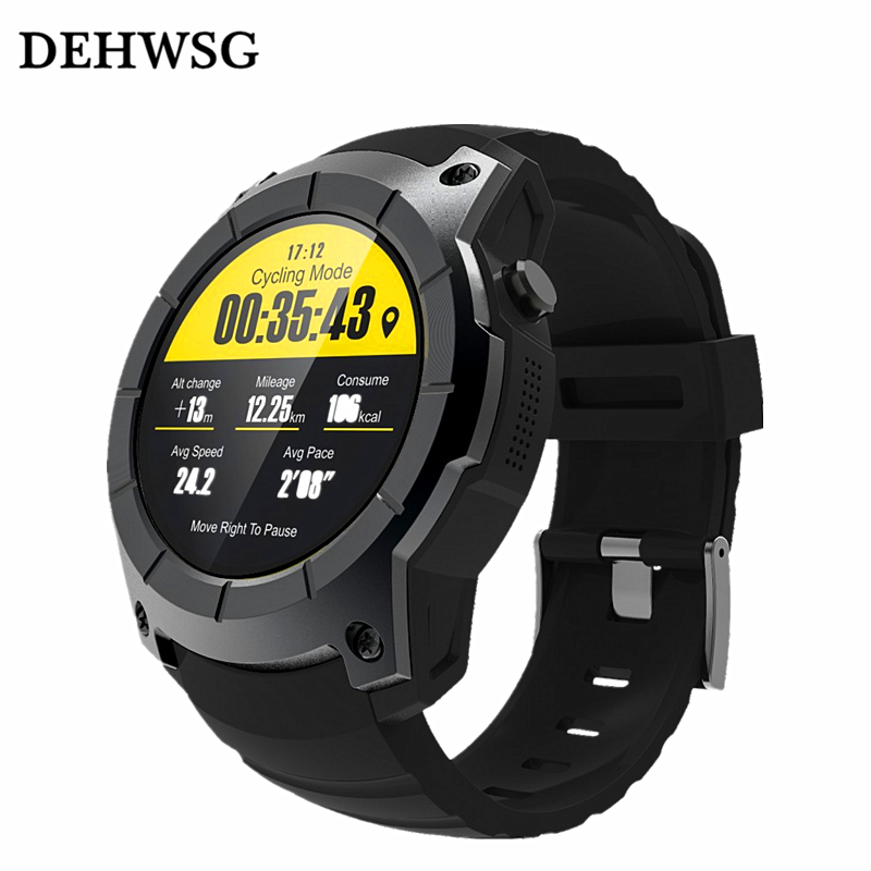 DEHWSG 2017 GPS Sports Watch S958 MTK2503 Heart rate monitor Smartwatch multi-sport model smart watch for Android IOS Xiaomi gps sim card gsm sports watch s958 mtk2503 heart rate monitor smartwatch multi sport model smart watch for android ios