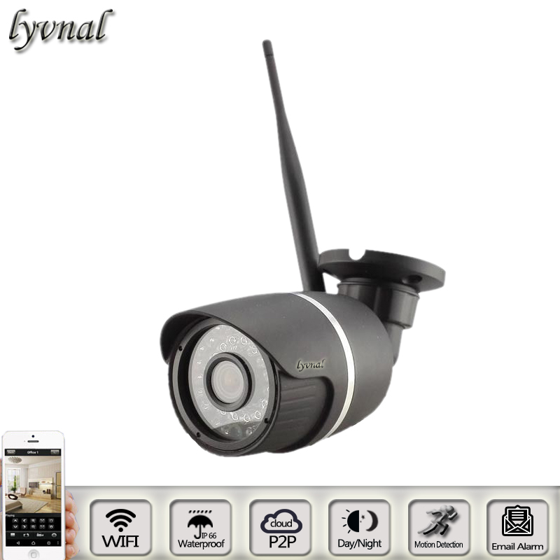 HD 2.0MP Waterproof Night Vision CCTV Camera SONYIMX323 720P/1080P IP Camera Wifi Network Onvif 2.0 Outdoor Home Security Camera