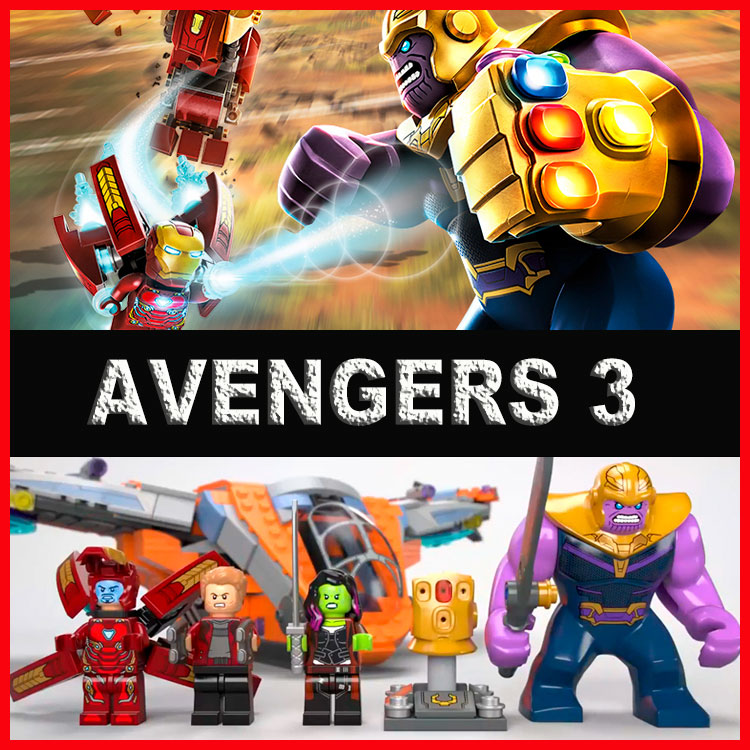 Boy Assembled Building Blocks Mavels Avengers 3 Super Heros Spider-Man Thor Iron Man Doctor Strange Educational Toys DIY Model