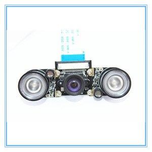 Image 4 - Raspberry Pi 3 Nacht Vision Fisheye Kamera 5MP OV5647 100 Grad Brenn Einstellbare Kamera für Raspberry Pi 3 Modell B plus