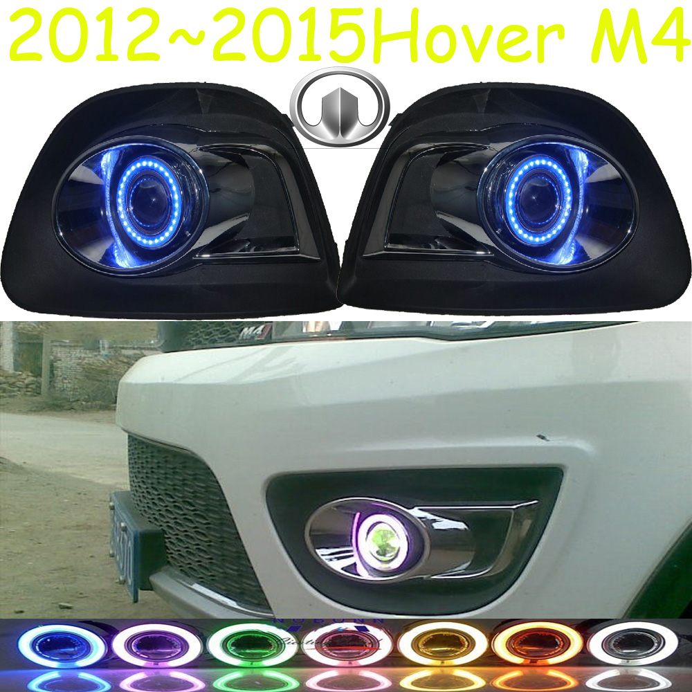 Great Wall Hover M4 fog light;2012~2015 Free ship!Hover M4 daytime light,2ps/set+wire ON/OFF:Halogen/HID XENON+Ballast,Hover M4 б у авто great wall wall hover 2 4p mt 5w
