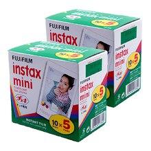 2015 new Genuine 100pcs Fuji Fujifilm Instax Mini 8 Film For 8 50s 7s 7 50i 90 25 Share SP-1 Instant Camera White Edge Fast