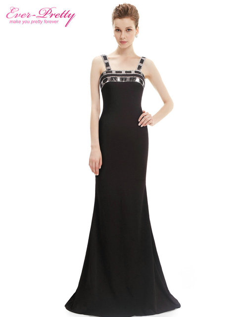 ab39954289f Women Long Evening Sexy Dresses Ever Pretty HE08562BK Spaghetti Strap  Dresses Free Shipping 2017 New Arrival