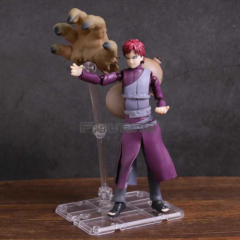SHF S.H.Figuarts Naruto Shippuden Gaara PVC Action Figure Collectible Model Toy new hot christmas gift 21inch 52cm bearbrick be rbrick fashion toy pvc action figure collectible model toy decoration