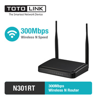 TOTOLINK N301RT 300Mbps WiFi Router, Wireless Router with 2 pcs of 5dBi Antennas