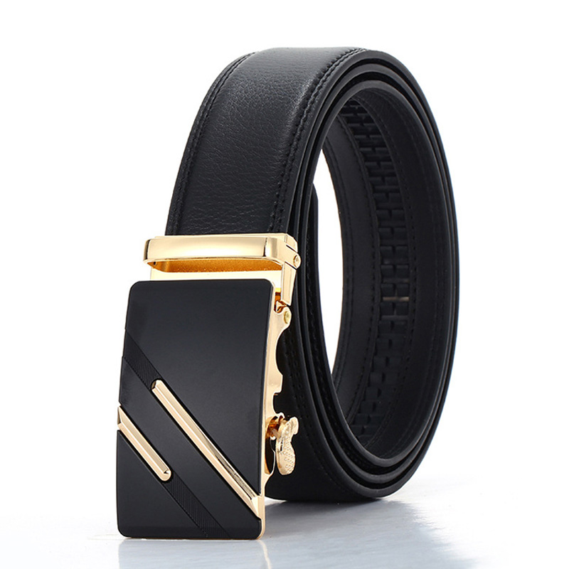 Newest Cody Steel Fashion Designers Men Belt Automatic Buckle Leather Casual Belt Business Male Alloy Buckle Belts For Mn