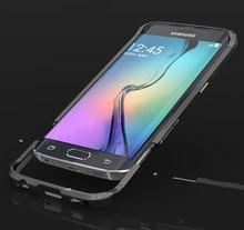 S6 edge Rapier Serie Luxury Aluminum Metal Bumper For samsung galaxy s6 Edge G9250 Case Prismatic