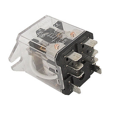 JQX-30F DC 24V Coil 30A 250V AC General Power Relay 8 Pin DPDT  Free Shipping hh52p my2nj my2n my2 dc 12v coil 5a general purpose power relay 8 pin dpdt